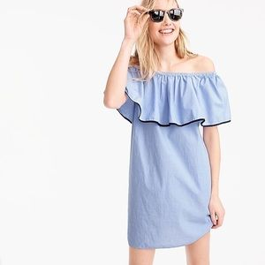 J.Crew off shoulders dress